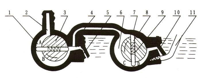 2X型旋片式真空泵的原理